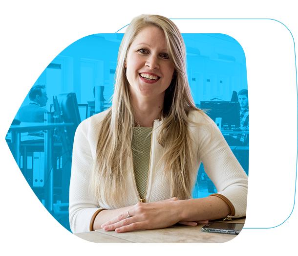 Saskia helps clients with a smooth implementation of safe email