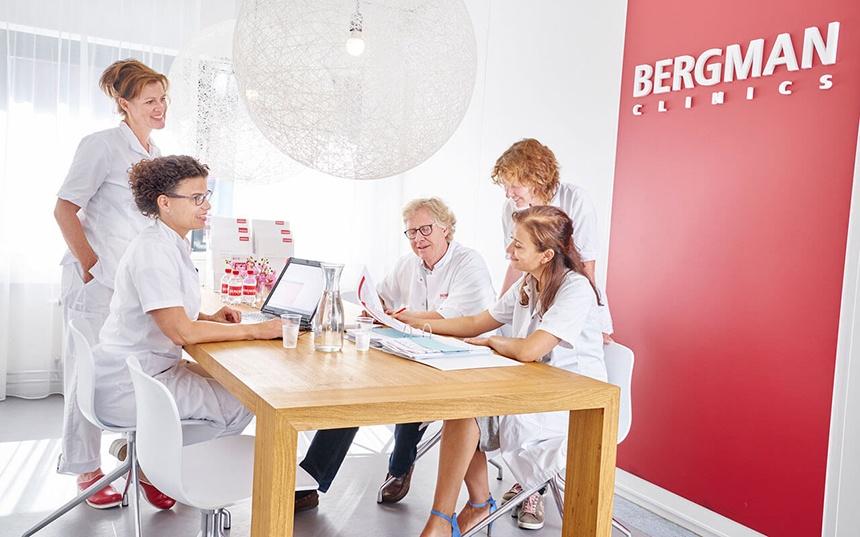Bergman clinics werkt met ZIVVER