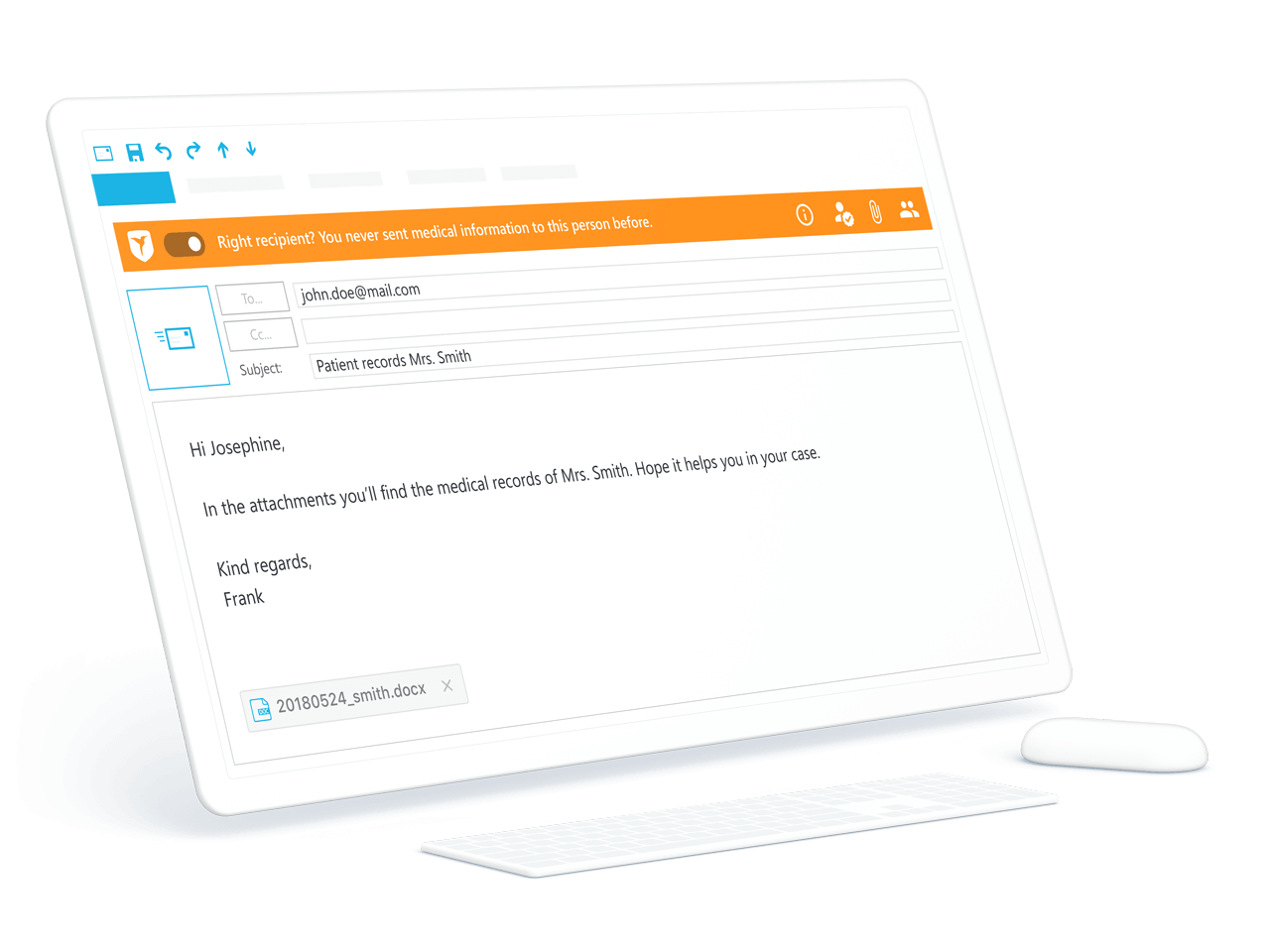 With ZIVVER you can safely send large files up to 4TB