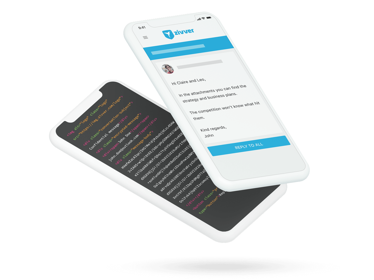 Protect your messages against hackers with our strong encryption and privacy by design