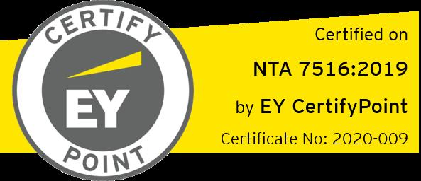 NTA7516 certificaat